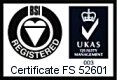 BSI and ISO9001 Certified
